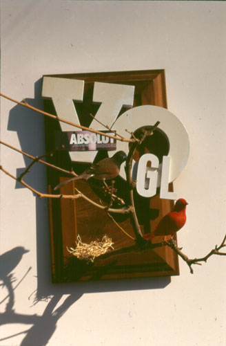 Absolut Vogl  (collages, Assemblage) - Fine Art by Donald G. Vogl, Fort Collins, Colorado