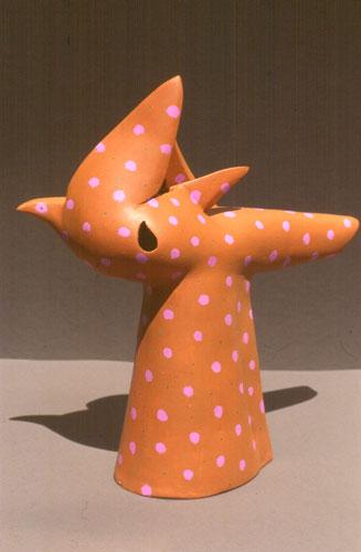 Dorothy  (ceramics animals, Ceramic) - Fine Art by Donald G. Vogl, Fort Collins, Colorado