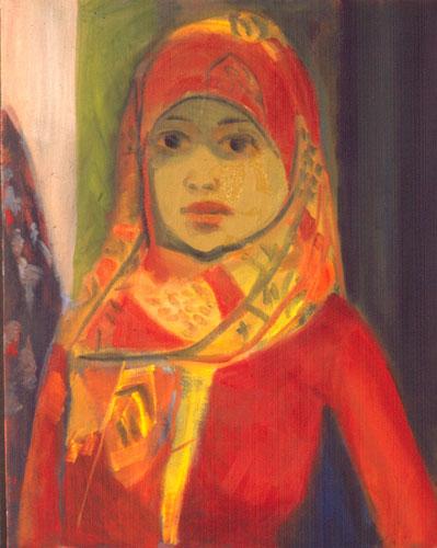 Portrait  (portraits, Oil) - Fine Art by Donald G. Vogl, Fort Collins, Colorado
