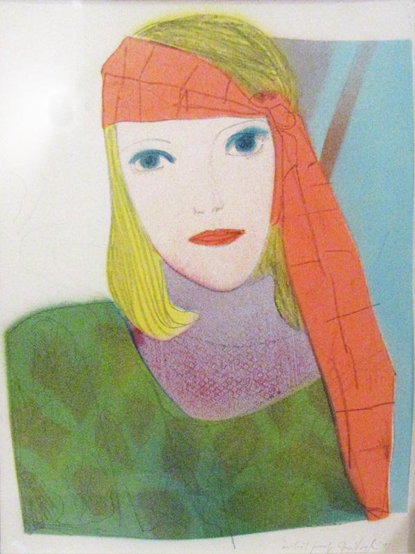 Artist Proof  (portraits, Lithograph) - Fine Art by Donald G. Vogl, Fort Collins, Colorado