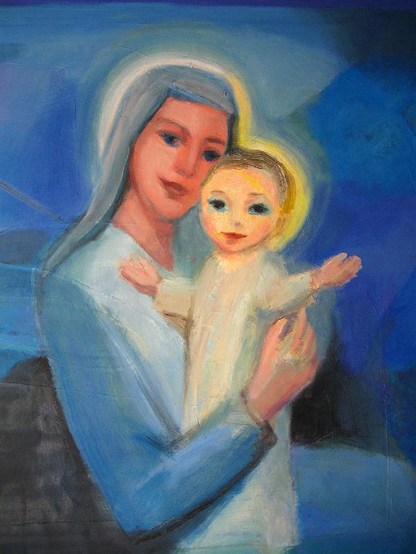 Benevolence  (portraits christian, Oil) - Fine Art by Donald G. Vogl, Fort Collins, Colorado