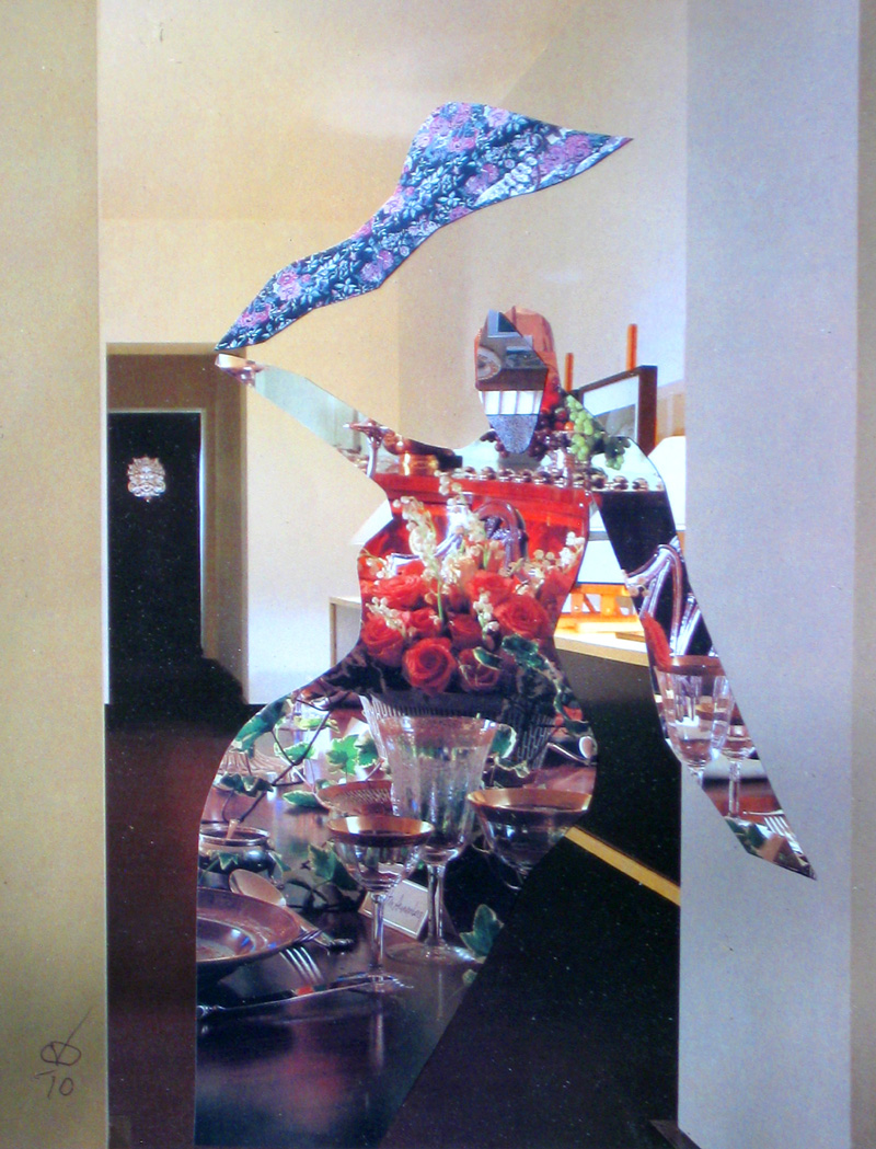 Big Tooth  (collages, Collage) - Fine Art by Donald G. Vogl, Fort Collins, Colorado