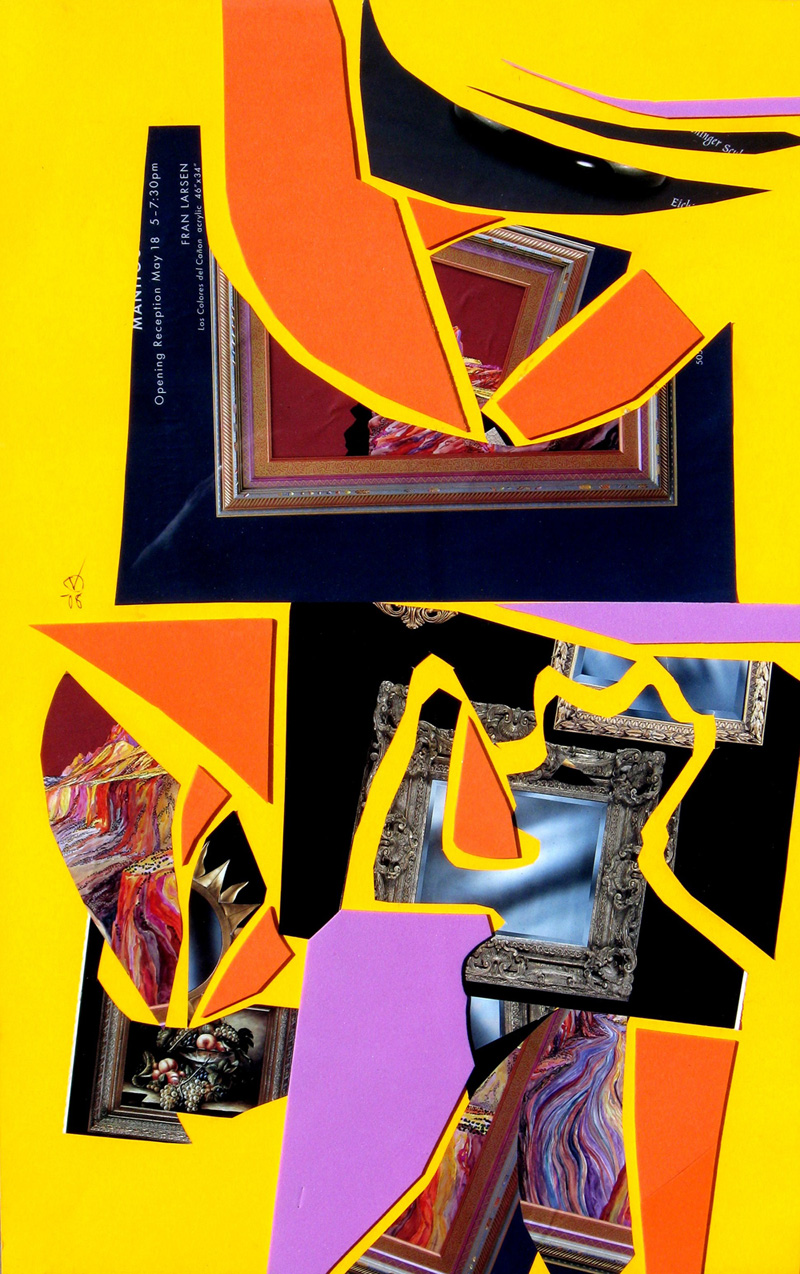 Boy Meets Girl  (collages, Collage) - Fine Art by Donald G. Vogl, Fort Collins, Colorado