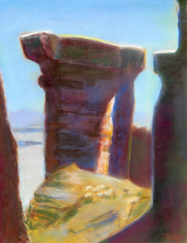Canyon Country Utah (landscapes, Pastel) - Fine Art by Donald G. Vogl, Fort Collins, Colorado
