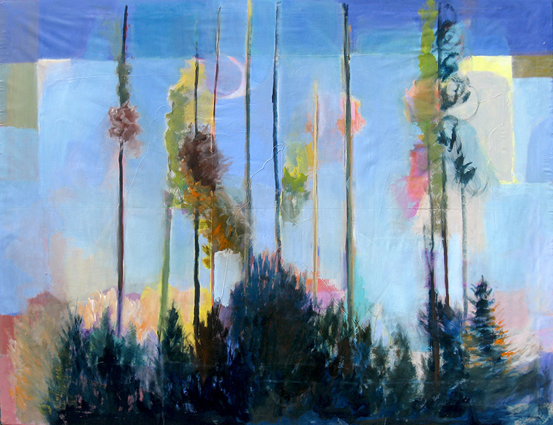 Fancy Free Colorado (landscapes, Acrylic) - Fine Art by Donald G. Vogl, Fort Collins, Colorado