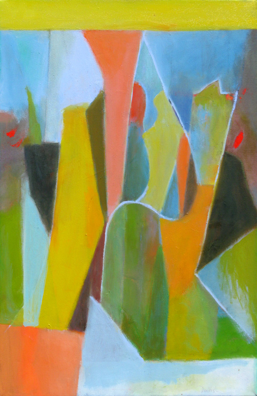 Firefly  (abstracts, Oil) - Fine Art by Donald G. Vogl, Fort Collins, Colorado