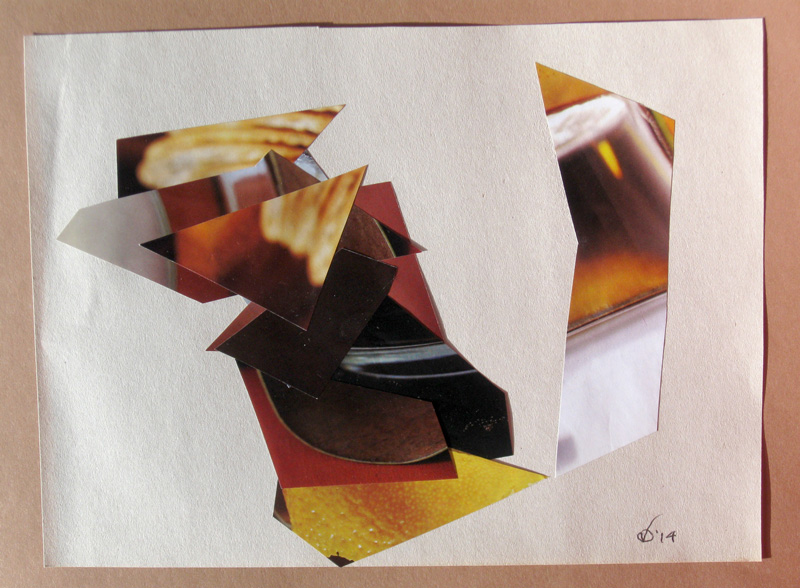 Flutter of Take-Off  (collages, Collage) - Fine Art by Donald G. Vogl, Fort Collins, Colorado