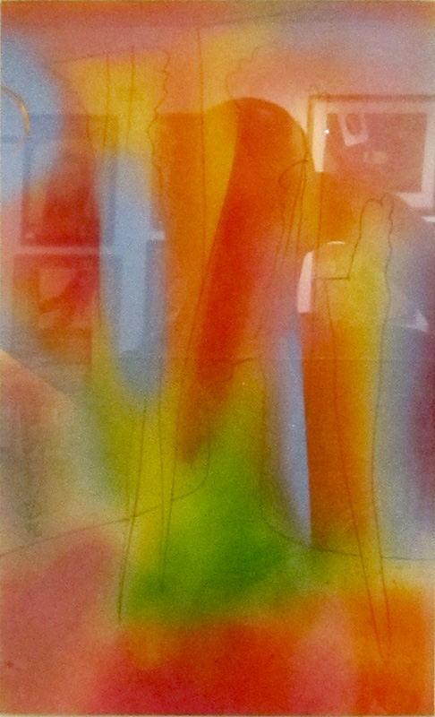 Graceful  (abstracts, Spray Paint) - Fine Art by Donald G. Vogl, Fort Collins, Colorado