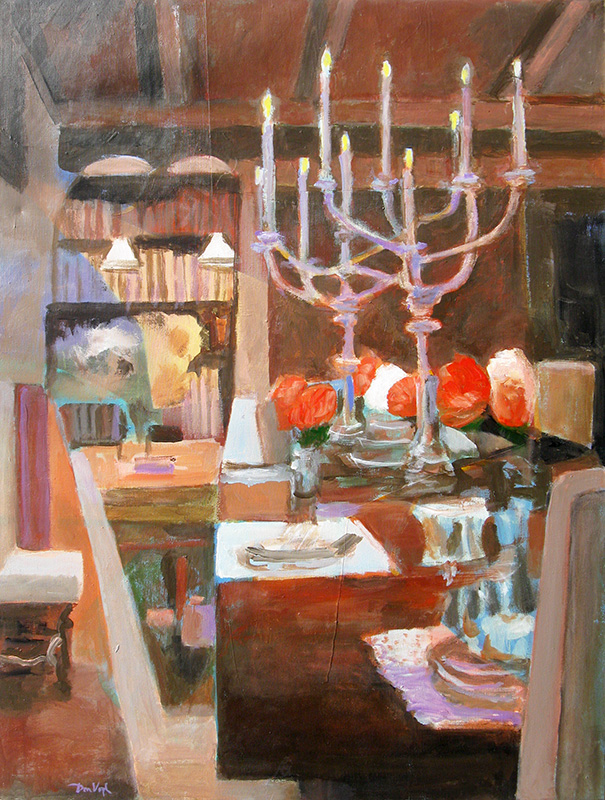 The Heart of the Home  (still-lifes, Acrylic) - Fine Art by Donald G. Vogl, Fort Collins, Colorado