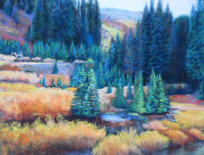 Loveland Pass Loveland Pass, Colorado (landscapes, Pastel) - Fine Art by Donald G. Vogl, Fort Collins, Colorado
