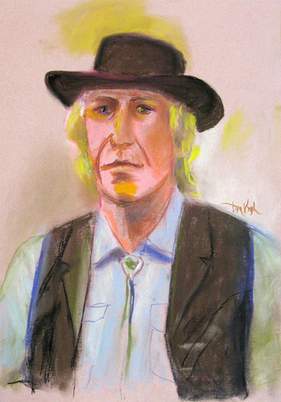 Mike  (portraits, Pastel) - Fine Art by Donald G. Vogl, Fort Collins, Colorado