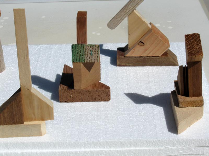 Mini Monument  (sculptures, Wood) - Fine Art by Donald G. Vogl, Fort Collins, Colorado