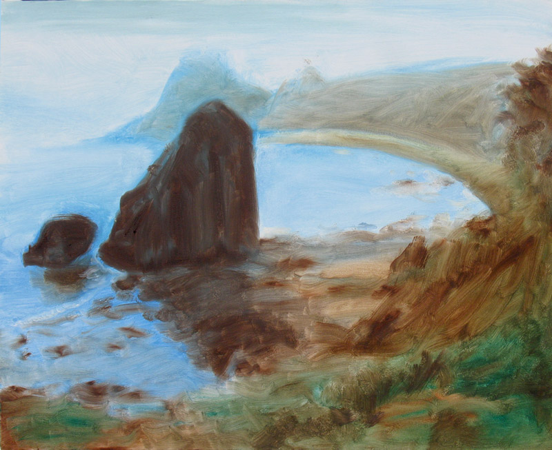 Oregon Coast  (landscapes, Oil) - Fine Art by Donald G. Vogl, Fort Collins, Colorado