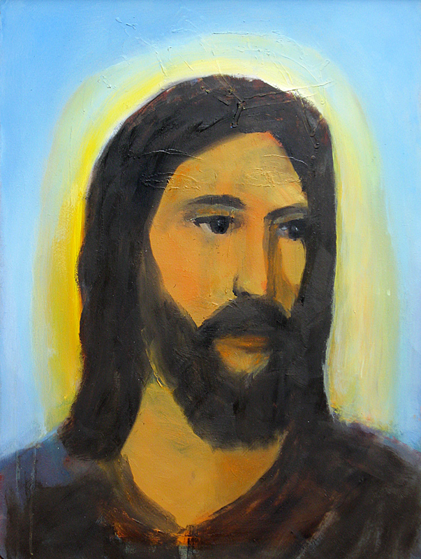 Our Lord  (portraits christian, Oil) - Fine Art by Donald G. Vogl, Fort Collins, Colorado