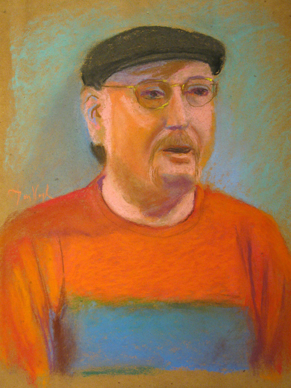 Portrait  (portraits, Pastel) - Fine Art by Donald G. Vogl, Fort Collins, Colorado