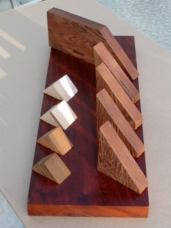 Sequence  (sculptures, Wood) - Fine Art by Donald G. Vogl, Fort Collins, Colorado