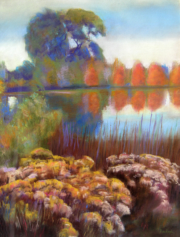Spring Canyon Park Fort Collins, Colorado (landscapes, Pastel) - Fine Art by Donald G. Vogl, Fort Collins, Colorado