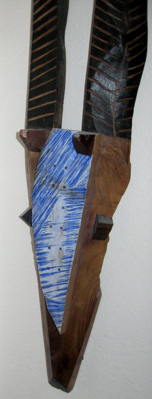 Trophy  (still-lifes animals, Wood (Walnut)) - Fine Art by Donald G. Vogl, Fort Collins, Colorado