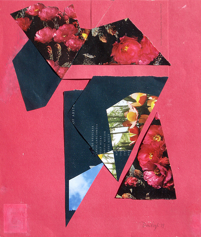 Try Angles  (collages, Collage) - Fine Art by Donald G. Vogl, Fort Collins, Colorado