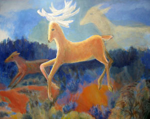 Deer Dreaming