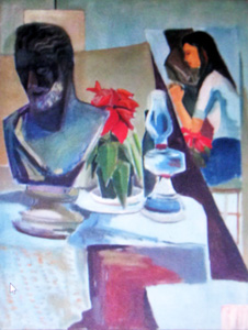 Still Life in Painting Class