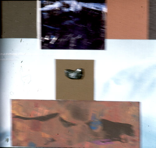 Listen (Assemblage, collages) - Fine Art by Donald G. Vogl, Fort Collins, Colorado