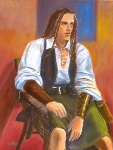 Pirate (Oil, portraits) - Fine Art by Donald G. Vogl, Fort Collins, Colorado