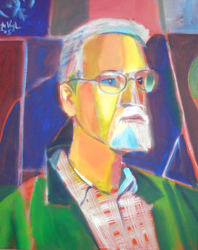 Richard (Oil, portraits) - Fine Art by Donald G. Vogl, Fort Collins, Colorado