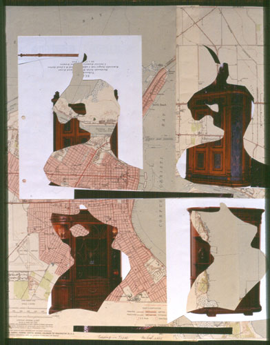 Turning in Texas (Collage, collages) - Fine Art by Donald G. Vogl, Fort Collins, Colorado