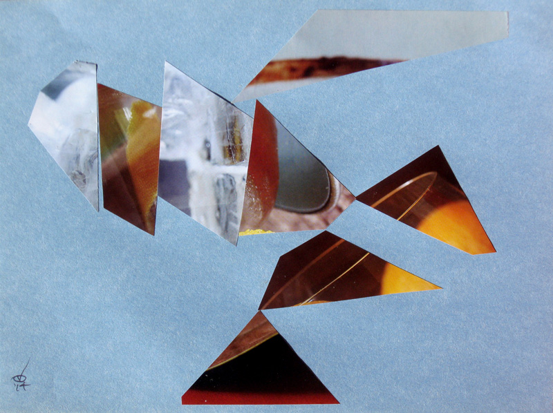 In the Atmosphere (Collage, collages) - Fine Art by Donald G. Vogl, Fort Collins, Colorado