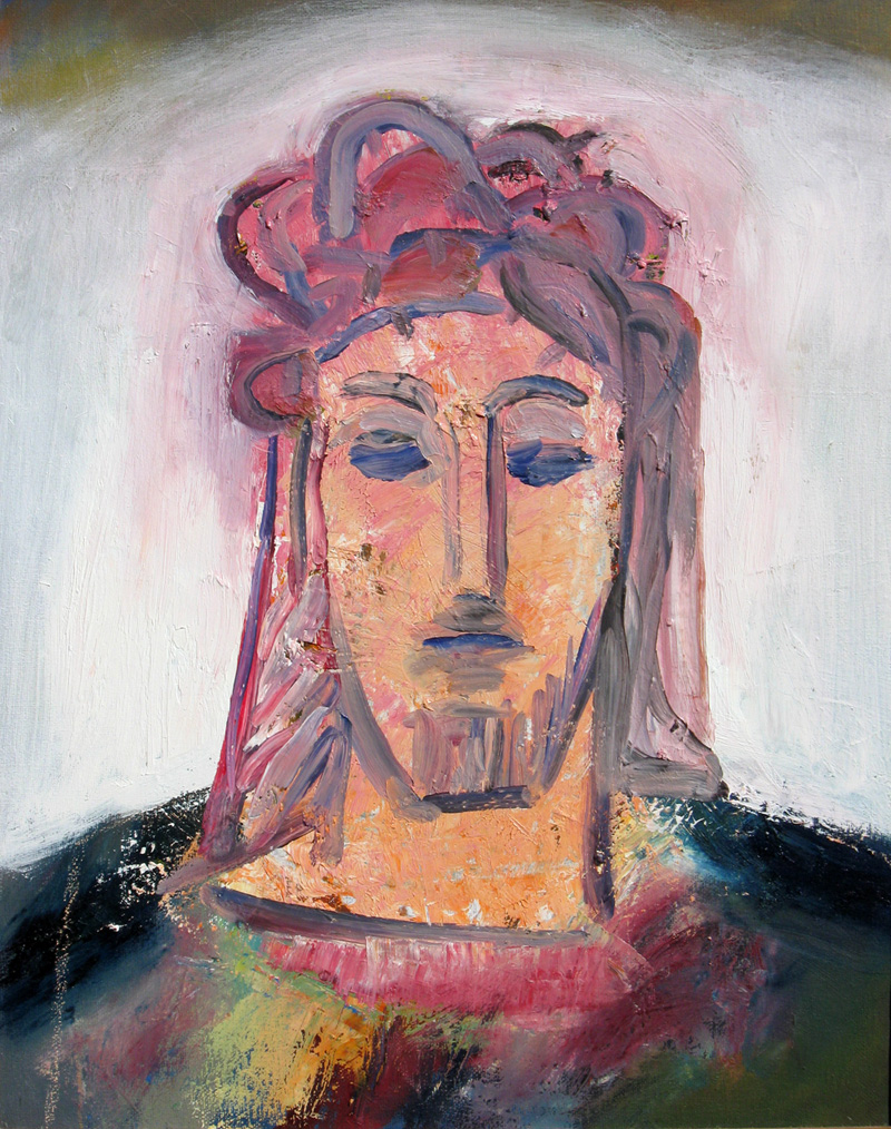 Christ (White) (Oil, christian portraits) - Fine Art by Donald G. Vogl, Fort Collins, Colorado