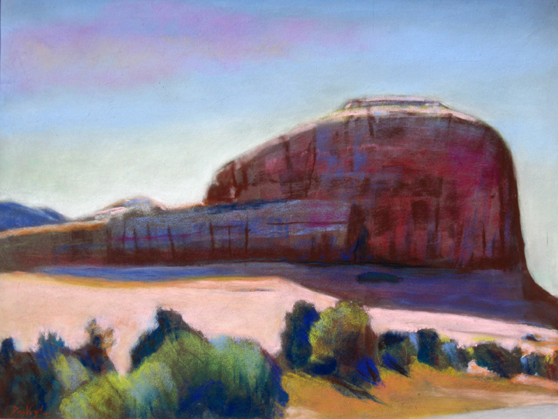 CitadelUtah (Pastel, landscapes) - Fine Art by Donald G. Vogl, Fort Collins, Colorado