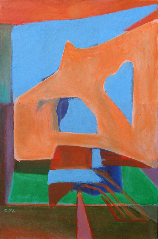 Daylight (Acrylic, abstracts) - Fine Art by Donald G. Vogl, Fort Collins, Colorado