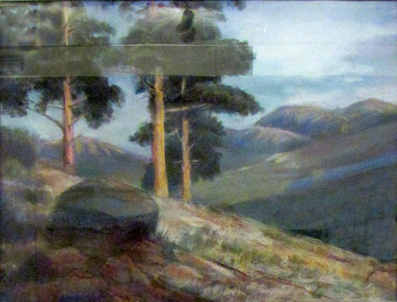 Deer RidgeRocky Mountain National Park, Colorado (Pastel, landscapes) - Fine Art by Donald G. Vogl, Fort Collins, Colorado