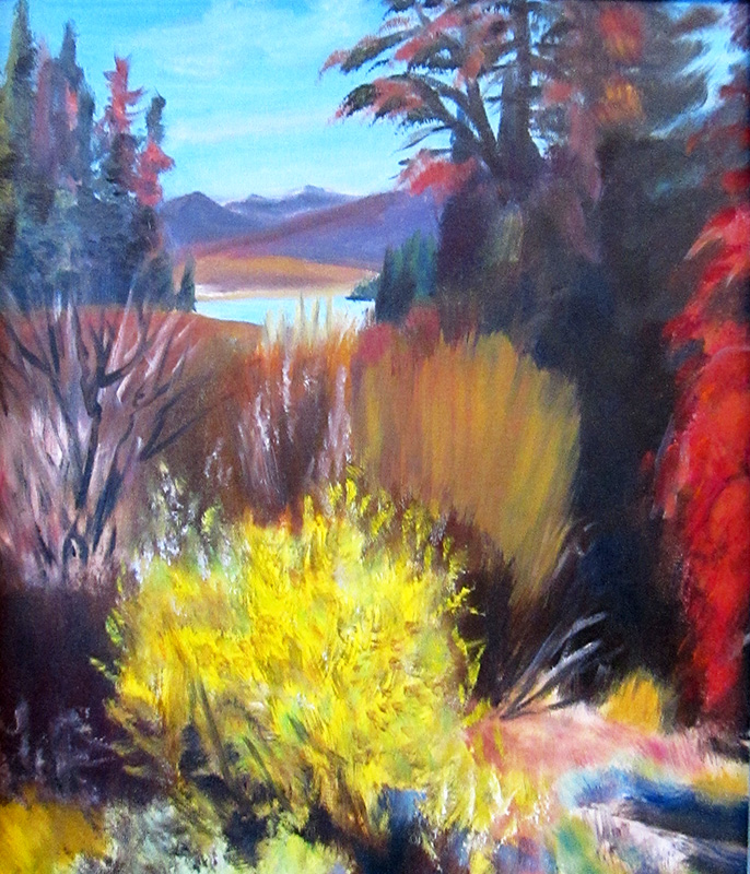 Dillon ReservoirColorado (Oil, landscapes) - Fine Art by Donald G. Vogl, Fort Collins, Colorado