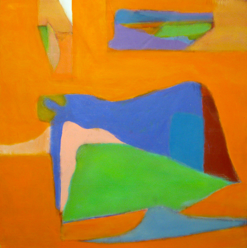 Dream of Brighter Days (Oil, abstracts) - Fine Art by Donald G. Vogl, Fort Collins, Colorado
