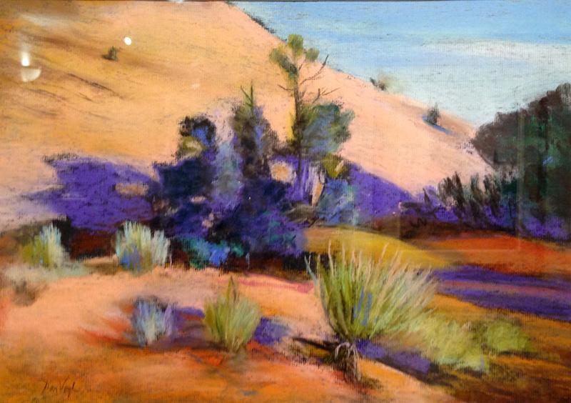 EscalanteColorado (Pastel, landscapes) - Fine Art by Donald G. Vogl, Fort Collins, Colorado