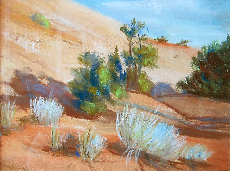 EscalanteColorado (Pastel, landscapes) - Fine Art by Donald G. Vogl, Fort Collins, Colorado