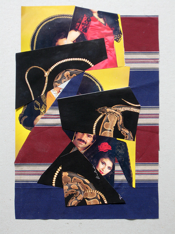 Fandango (Collage, collages) - Fine Art by Donald G. Vogl, Fort Collins, Colorado