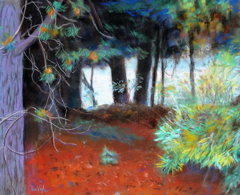 Frisco BayColorado (Pastel, landscapes) - Fine Art by Donald G. Vogl, Fort Collins, Colorado