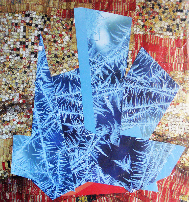 Frosting (Collage, collages) - Fine Art by Donald G. Vogl, Fort Collins, Colorado