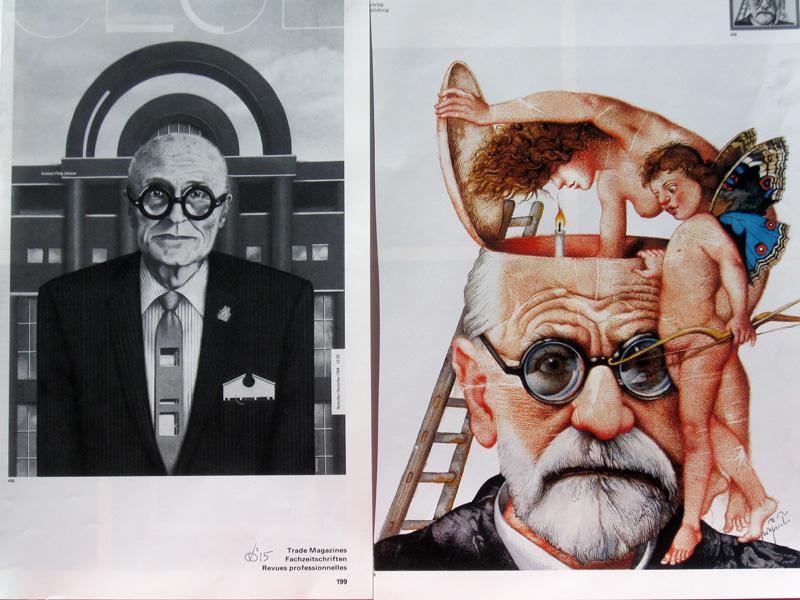 Glasses Familiar? (Collage, collages) - Fine Art by Donald G. Vogl, Fort Collins, Colorado