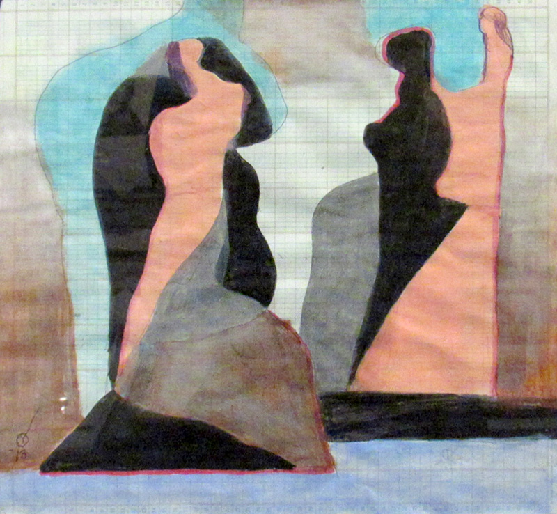 Keeping Up Appearance (Acrylic, abstracts) - Fine Art by Donald G. Vogl, Fort Collins, Colorado