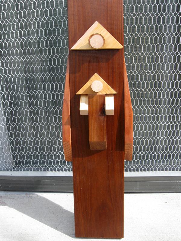 Madonna (Wood, sculptures christian) - Fine Art by Donald G. Vogl, Fort Collins, Colorado