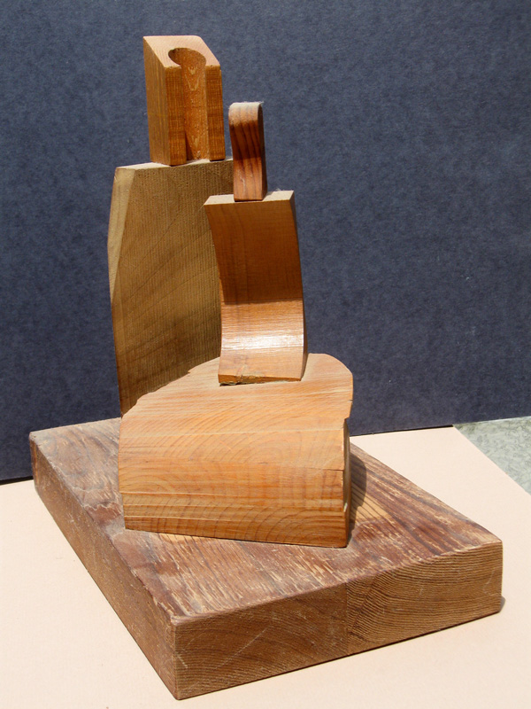 Maternal (Wood, sculptures) - Fine Art by Donald G. Vogl, Fort Collins, Colorado