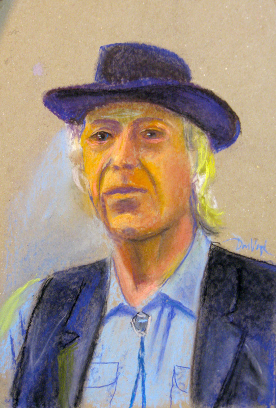 Mike (Pastel, portraits) - Fine Art by Donald G. Vogl, Fort Collins, Colorado