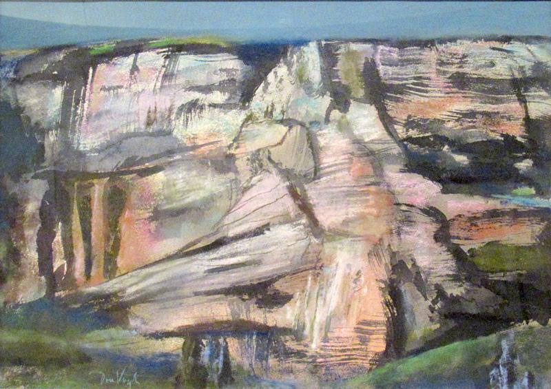 Oak Creek CanyonArizona (Pastel, landscapes) - Fine Art by Donald G. Vogl, Fort Collins, Colorado