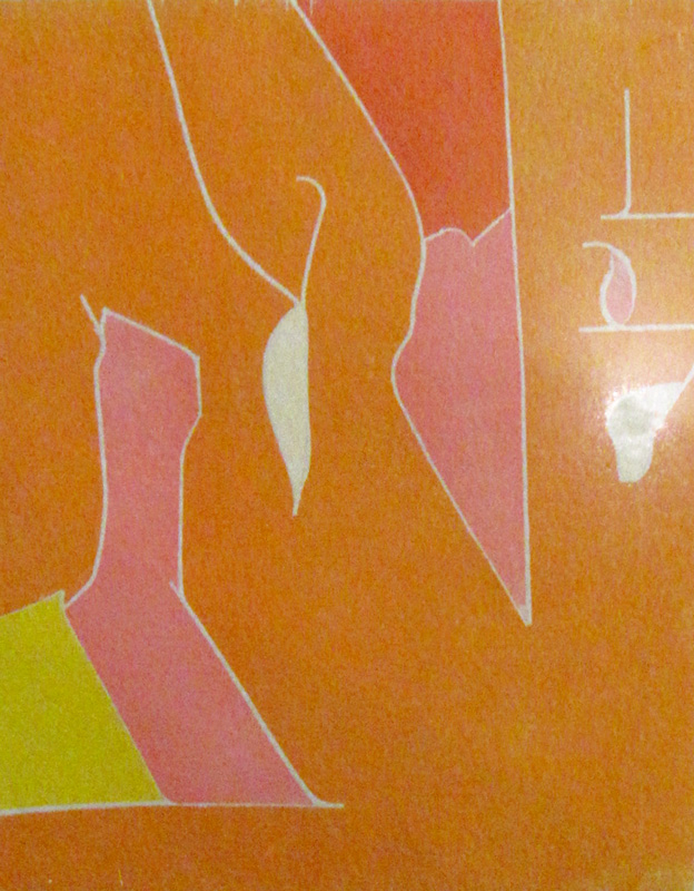 Parade (Woodcut, abstracts) - Fine Art by Donald G. Vogl, Fort Collins, Colorado