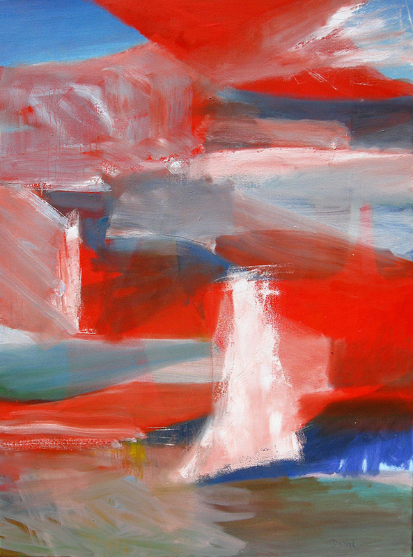 Pinnacle (Oil, abstracts) - Fine Art by Donald G. Vogl, Fort Collins, Colorado