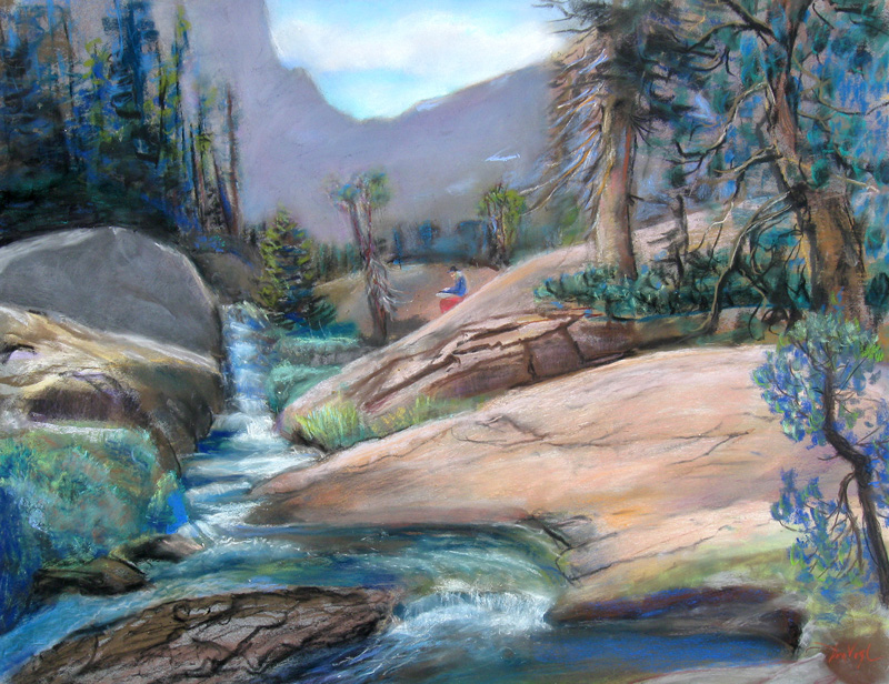 Plein AirColorado (Pastel, landscapes) - Fine Art by Donald G. Vogl, Fort Collins, Colorado